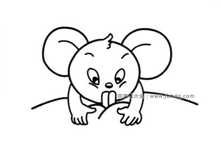 小老鼠在咬东西