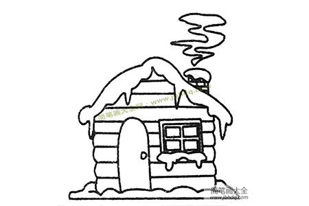 房子简笔画大全及画法步骤