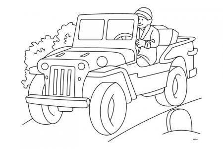 在开车的爸爸