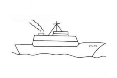海上行驶的轮船