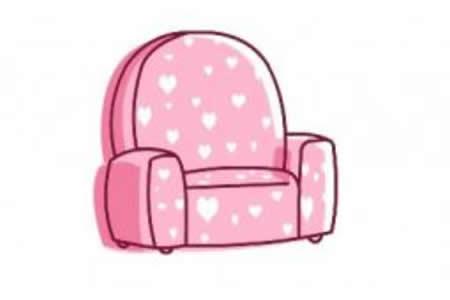 单人沙发的绘画分解步骤