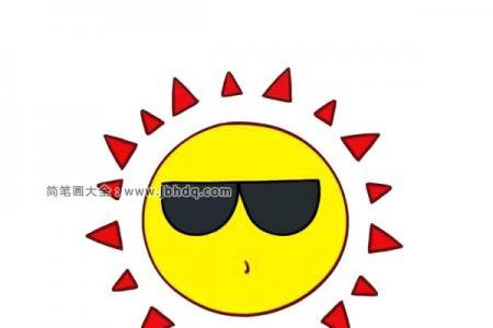 酷酷的太阳