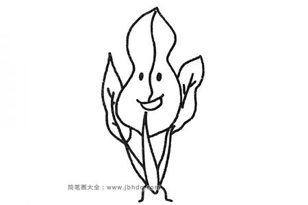 四步学画卡通菠菜
