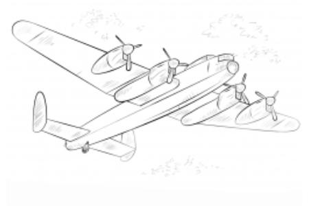 兰开斯特轰炸机