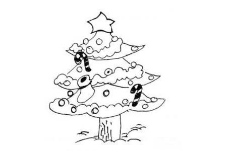 2016圣诞树简笔画大全