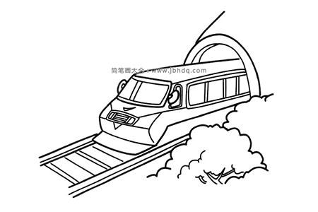 火车刚出隧道