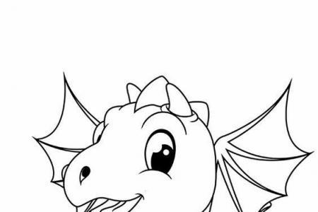 可爱的恐龙宝宝简笔画图片