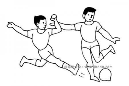踢足球运动