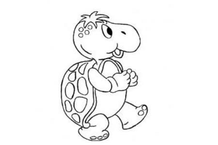 卡通小乌龟简笔画图片