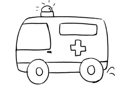 Q版交通工具 救护车