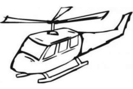 飞翔的直升机