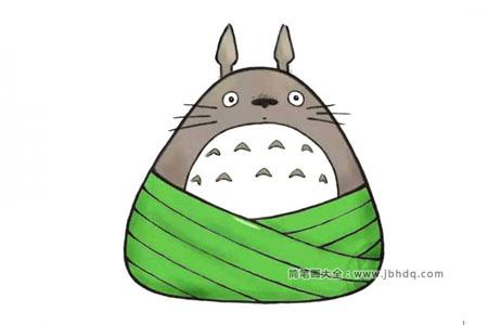 动漫人物粽子系列 龙猫粽