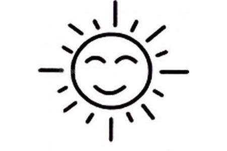太阳的画法简笔画