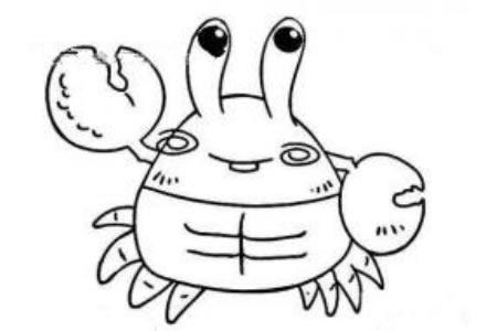 东张西望的螃蟹