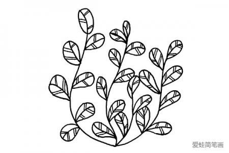 漂亮的小树叶