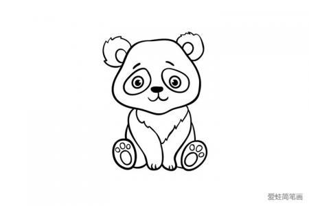 简单可爱的大熊猫