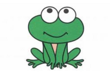 青蛙简笔画画法