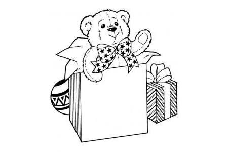可爱的泰迪熊礼物