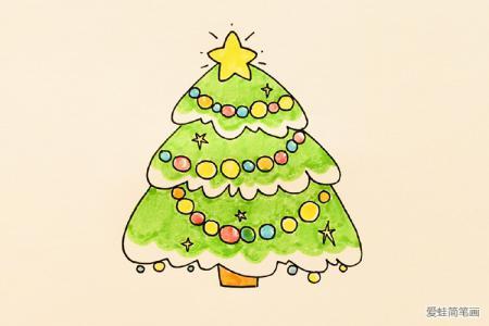 简单可爱的圣诞树
