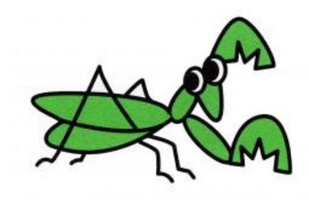 螳螂简笔画画法