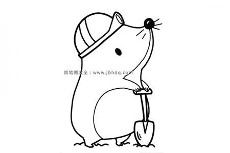 建筑工人土拨鼠