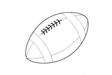 儿童玩具图片 橄榄球简笔画图片