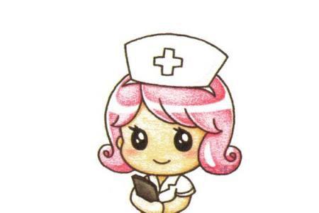 可爱的小护士怎么画