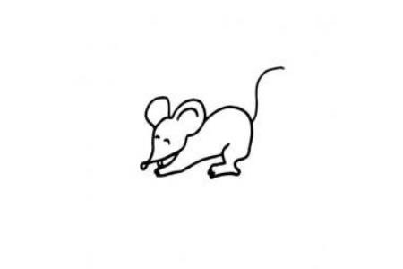 可爱小老鼠简笔画大全