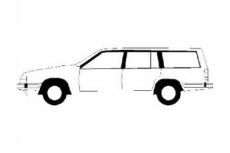 家庭小轿车简笔画图片