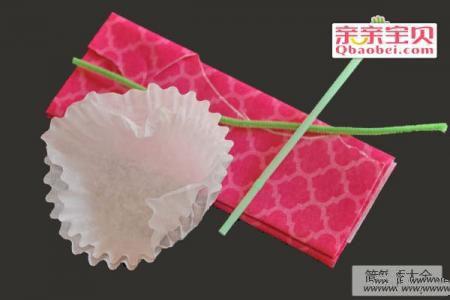 蛋糕纸花制作方法