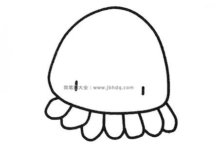 一组简单易学的章鱼简笔画图片