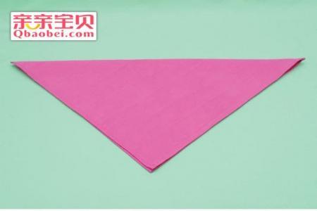 餐巾玫瑰花的折法