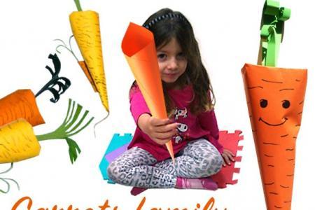 胡萝卜手工制作方法步骤图解