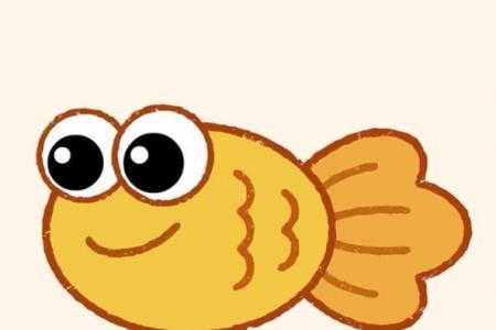 神奇简笔画 金鱼