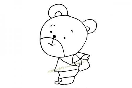 小熊去上学