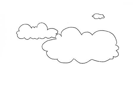 飘逸的云朵