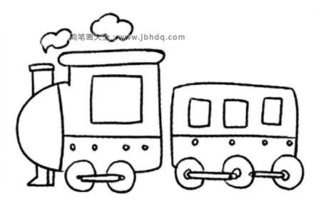 Q版交通工具 火车