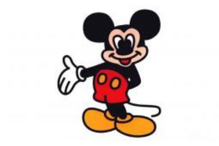 简笔画米老鼠