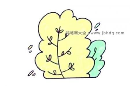 大树的简单画法