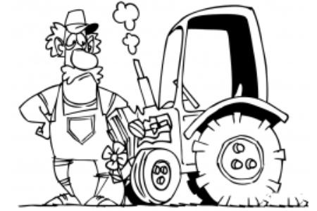 农民和他的拖拉机