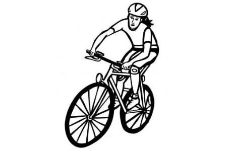 自行车女运动员