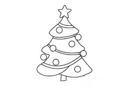 2016关于圣诞树的简笔画图片