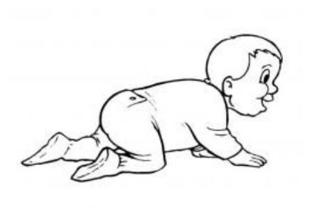 婴儿简笔画图片
