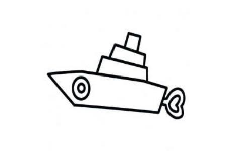 儿童玩具发条船