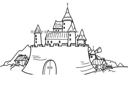 宏伟的城堡