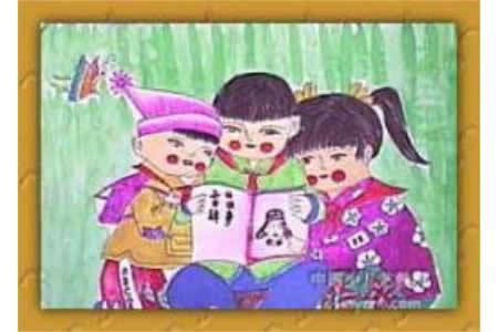 有关雷锋的儿童画-读雷锋叔叔的故事
