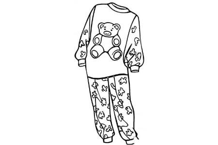 女孩的睡衣