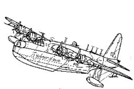 桑德兰巡逻轰炸机