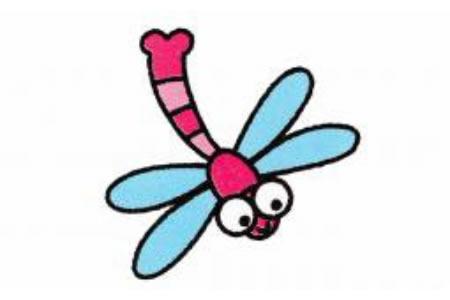 蜻蜓简笔画画法