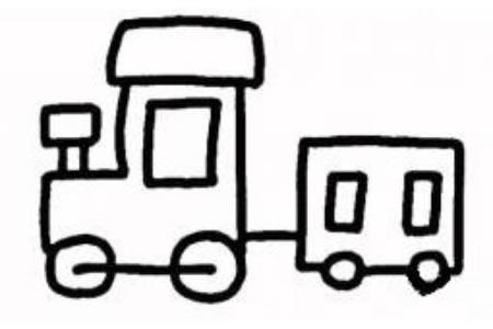 拖拉机简笔画画法